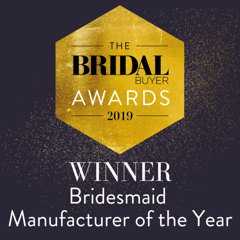 Winner Bridesmaid Manufacturer of the Year 2019